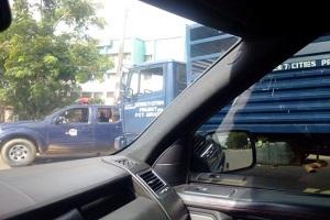 BREAKING: Police Seal PDP Nat'l Secretariat
