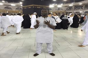 Fuji Star, Malaika In Mecca For Lesser Hajj (Photos)