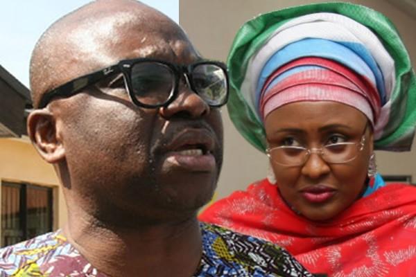 BREAKING: Aisha Buhari Sues Fayose