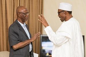 Buhari Hails Oyegun At 77