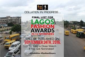 Lagos Fashion Awards: Organizers To Unveil Nominees Soon