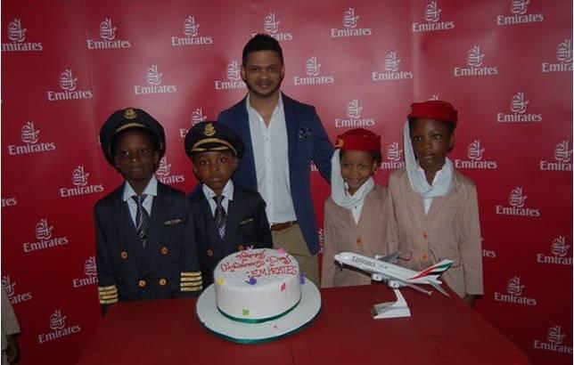 Emirates Airline Fetes Nigerian Kids on Children's Day