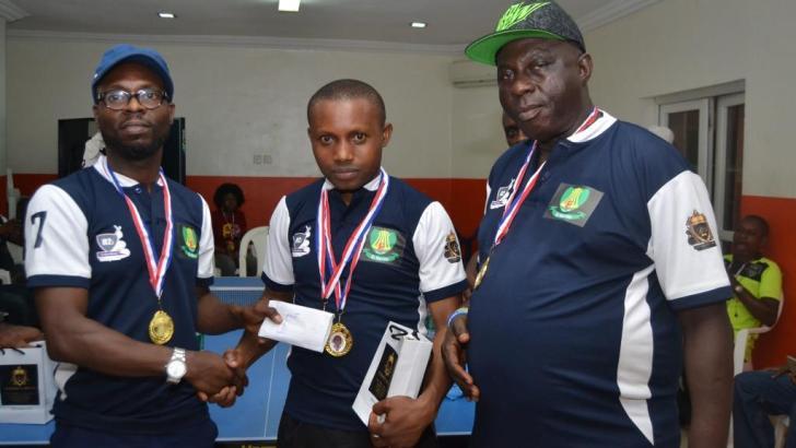 Teacher Retains El-Marino Table Tennis Title