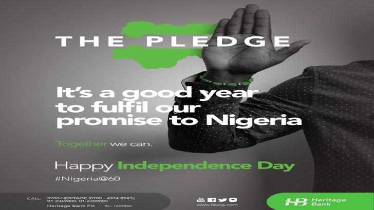 Heritage Bank Rewards Nigerians To Celebrate Independence Anniversary
