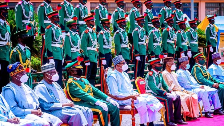 President Buhari Restates Confidence In Army