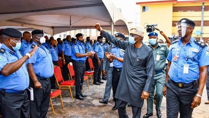 Children Of Policemen Killed In Lagos Violence Get Scholarship