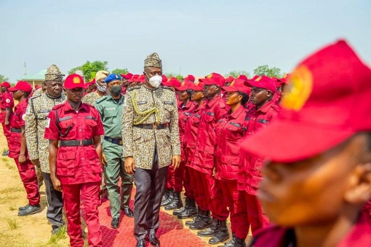 Governor Seyi Makinde at Amotekun Inauguration