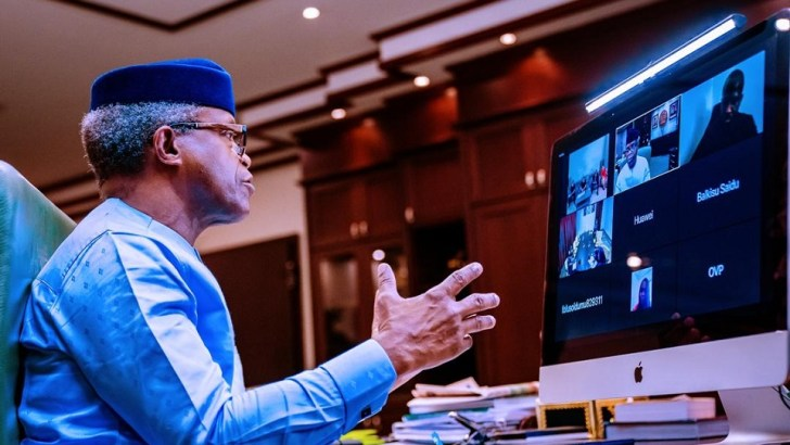 Osinbajo To Huawei & Co: Training Is Good, But I Want Tech Jobs For Young Nigerians