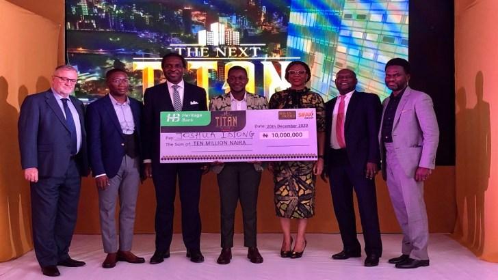 Heritage Bank Powers Palm Oil Entrepreneur With N10m In The Next Titan Season-7