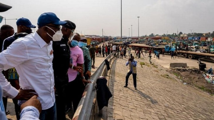 Apapa Gridlock: Lagos Moves To Take Over Presidential Taskforce Operation