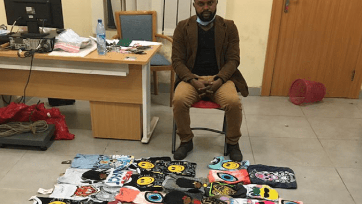 NDLEA Intercepts 3.30kg Of Cocaine Concealed In T-Shirts Stickers