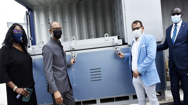 COVID-19: CACOVID Donates Incinerator, 260 Oxygen Cylinder To Lagos State