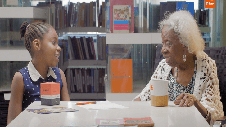 Children's Day 2021: GTBank Features 91-Year-Old Iconic Storyteller, Mabel Segun