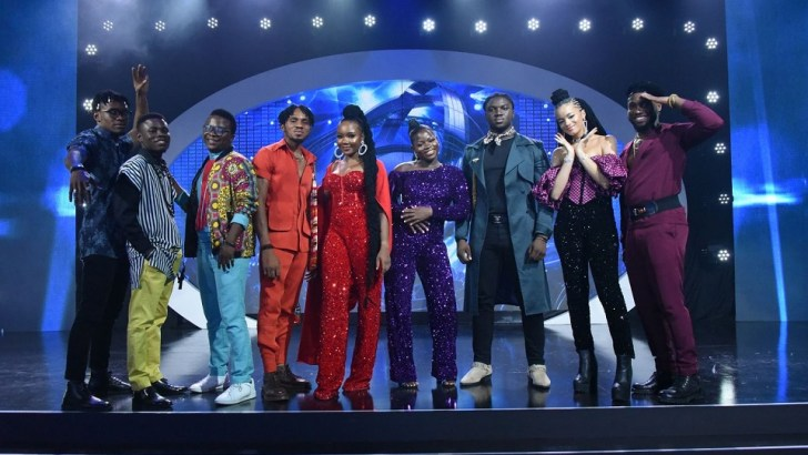 The Battle Gets Tougher as Nine Contestants Scale Through to Next Round of Nigerian Idol