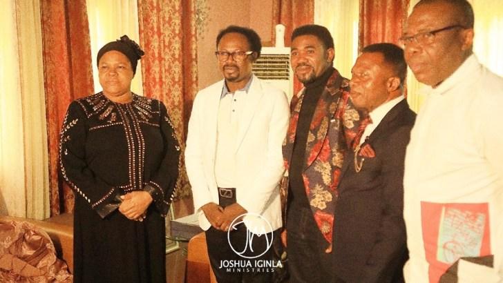 Prophet Joshua Iginla Pays Condolence Visit to TB Joshua's Wife