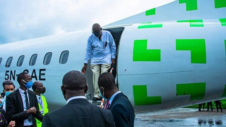 Akeredolu Welcomes Green Africa Airways, Says Airline Will Boost Economic Growth