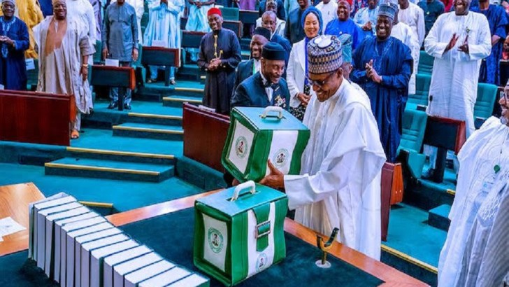 President Buhari Presents 2022 Budget To National Assembly On Thursday