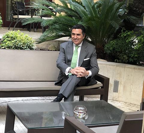 Presidente de APROMES, Javier García-Bernal