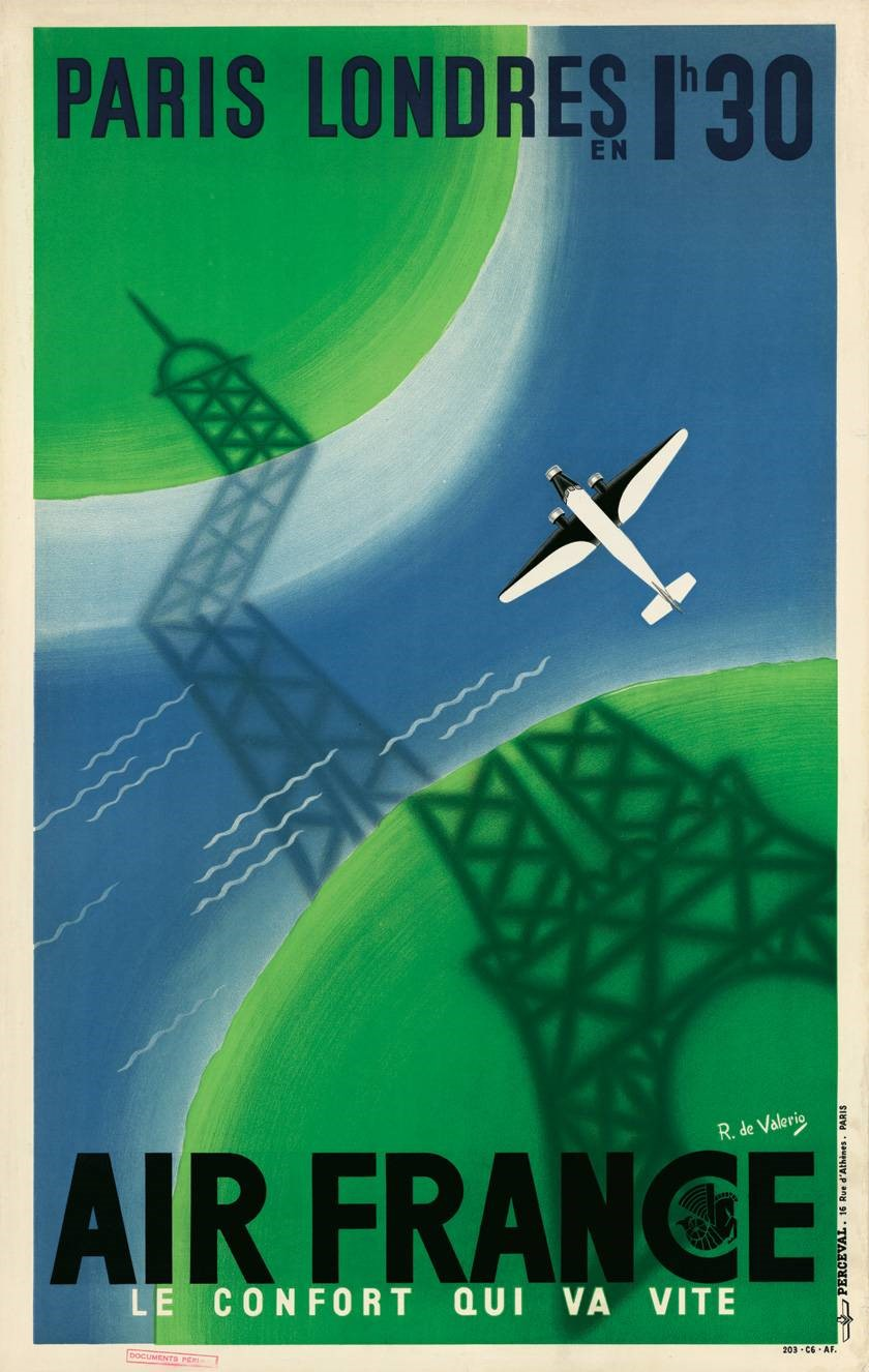 air france posters vintage airline
