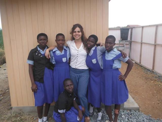 Voluntariado europeo. Sofi en Ghana