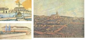 Cruzeiro do Largo de São Francisco / Santa Casa de Misericórdia de Itu / Vista da cidade de Ytu