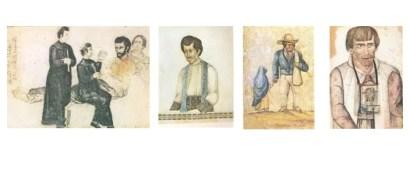 Morte do Padre Elias do Monte Carmelo / Padre Elias do Monte Carmelo / Cego com criança – Piracicaba