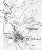 """São Paulo. Comissão Geográfica e Geológica [sic]. """"Folha de Piracicaba"""" 1:100.000. São Paulo, 1901"""