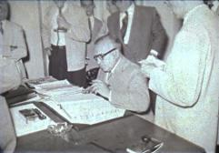 Assinatura do diretor da CPFL, R.A.Wrench