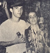 Vera Malheiros e seu namorado