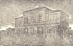 Em 27 de Janeiro de 1884, o Colégio Piracicabano passou a funcionar em casa própria, no mesmo local onde atualmente se acha, na rua da Boa Morte. Na foto, o primeiro edifício do Colégio