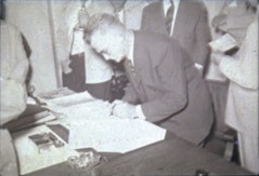 O advogado Jacob Diehl Neto, orientador do contrato