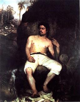 Derrubador brasileiro, 1879.(Museu Nacional de Belas Artes, Rio.)
