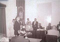 Sessão solene na Câmara Municipal para celebrar o ato