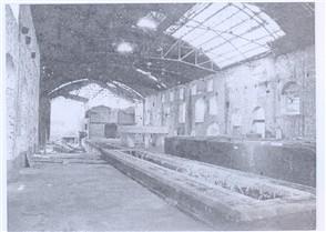 Antigo edifício industrial
