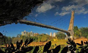 A cidade refletida em sua própria alma, o Rio Piracicaba - Foto Del Rodrigues