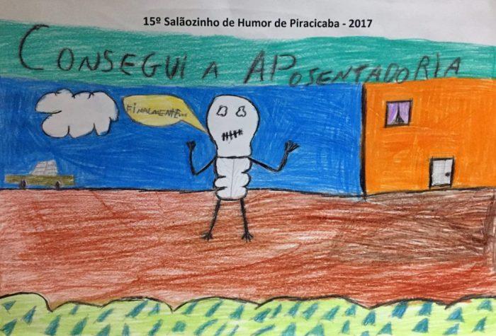 Eliézes Gustavo Manoel – 10 anos – E.M. Geraldo Bernardino – Piracicaba