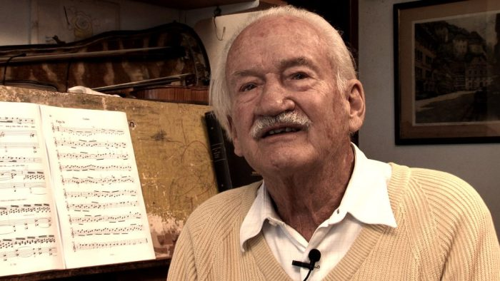 Maestro Ernst Mahle está no documentário Musicalidade Piracicabana