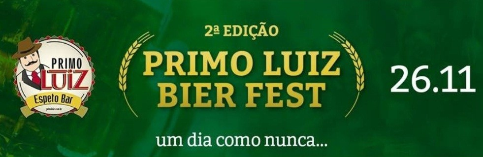 2ª edição do Primo Luiz Bier Fest acontece no dia 26