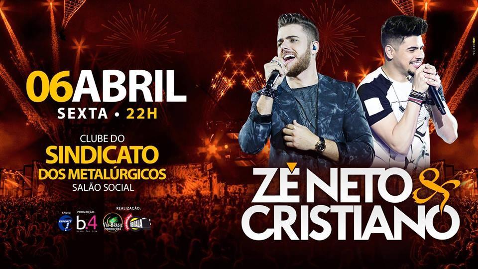Dupla Zé Neto e Cristiano faz show em Piracicaba