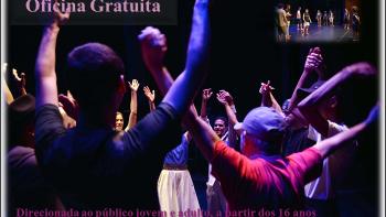 """Oficina de """"Teatro e expressão corporal: arte e movimento""""no SESI"""