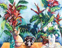 """""""Objetos"""", obra da artista plástica mineira - acervo de Kaili Oliveira. (foto: Quim Drummond)"""