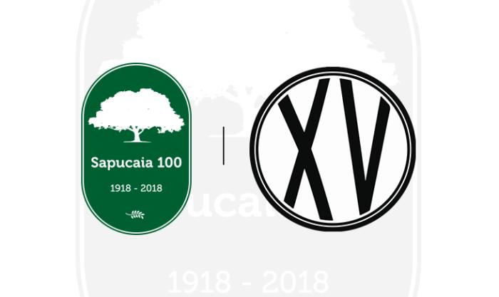 Selo sapucaia e XV