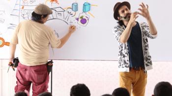 Sesc traz programação com literatura e expressão corporal para crianças
