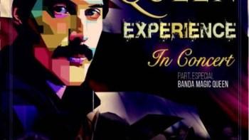 """""""Queen Experience In Concert"""" no Teatro do Engenho"""