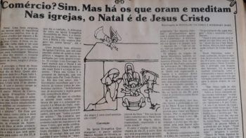 Nas igrejas, o Natal é de Jesus Cristo