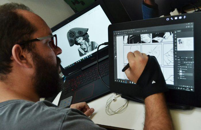Vinicius Velo é autor de HQ Proccissão FOTO TEMPO D COMUNICAÇÃO E CULTURA