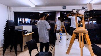 Projeto Espaço Sideral celebra 50 anos do homem na lua