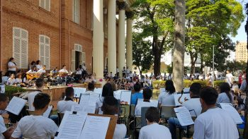 Apresentação Musical do Instituto Formar no Martha Watss