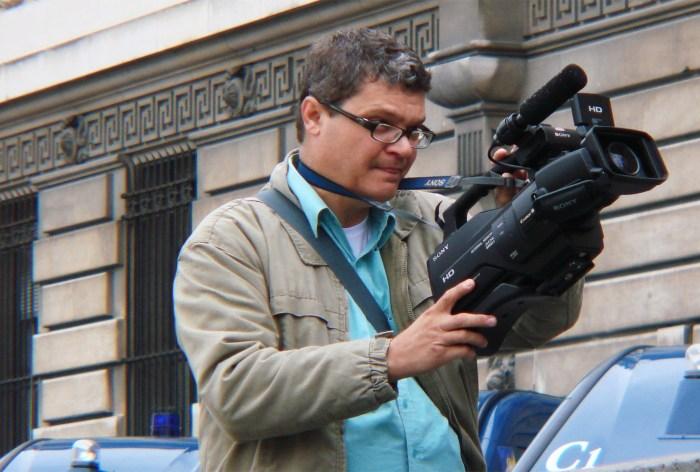 Lauro Pinotti é o autor do projeto cultural sobre cinema FOTO SARA PINOTTI
