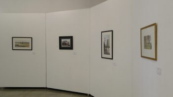 Pinacoteca Municipal exibe 25 obras na técnica de aquarela